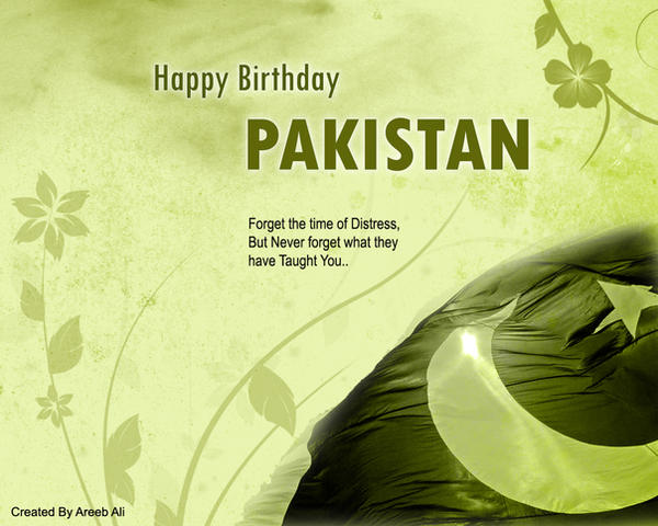 Happy Pakistan Independence Day - Airliners net