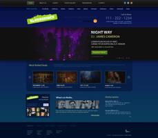 Web Design - Night Club by Areeb89
