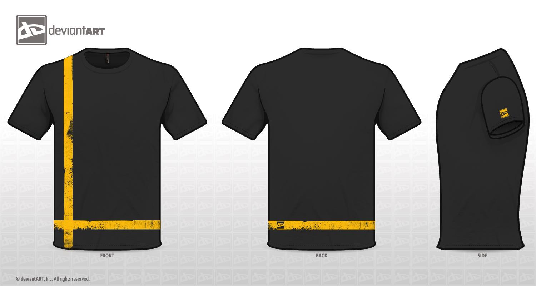 Black t shirt grunge -  T Shirt Design Grunge By Areeb89