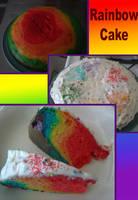 Rainbow Cake by CicatrizESP