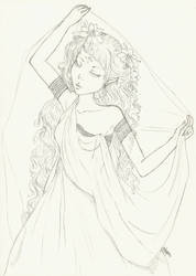Lineart blind weeding by menolly-48