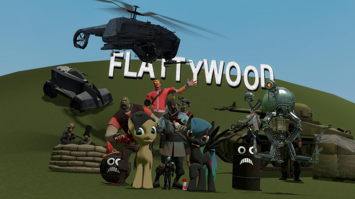 Painty Cogsy Gmod World by Cogs-Fixmore
