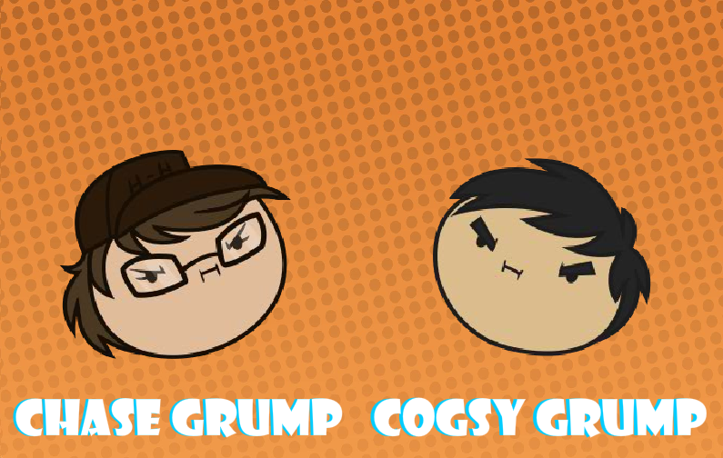 Cogsy and Chase Grumps by Cogs-Fixmore
