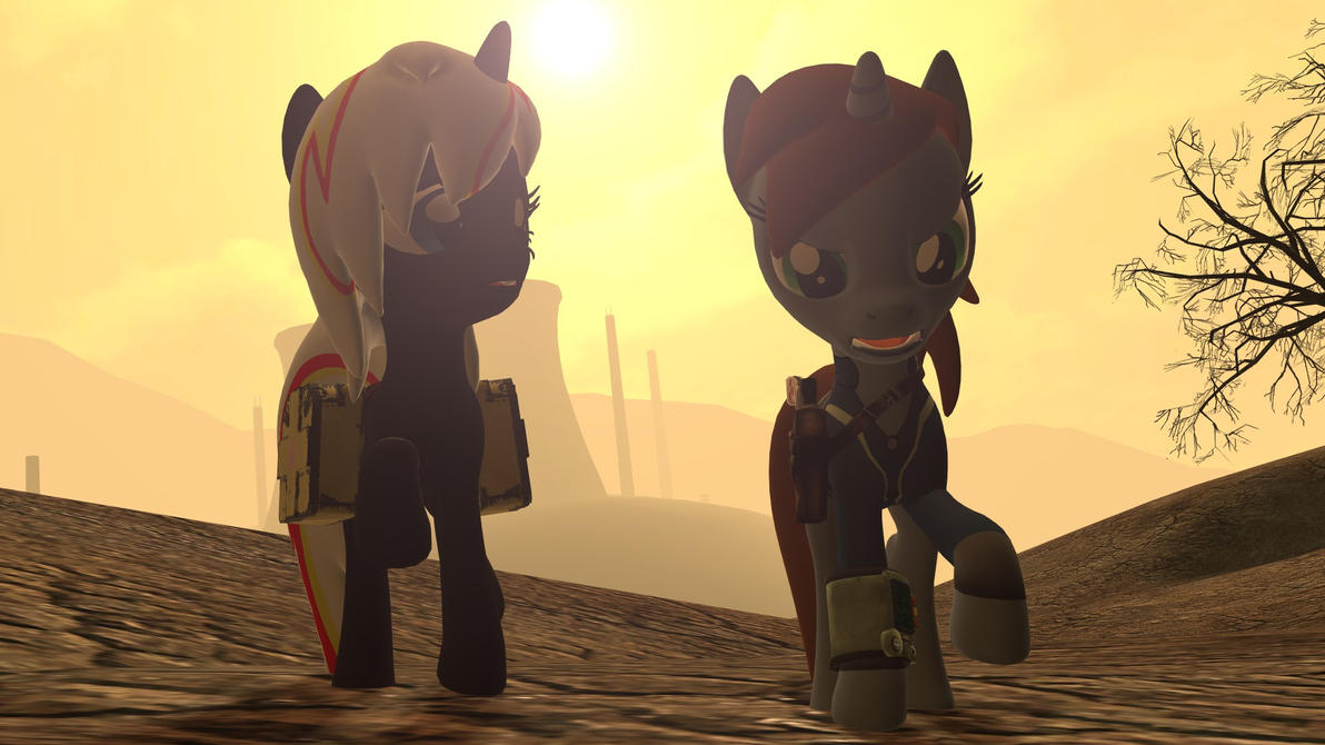 Fallout Equestria LittlePip is Grumpy by Cogs-Fixmore