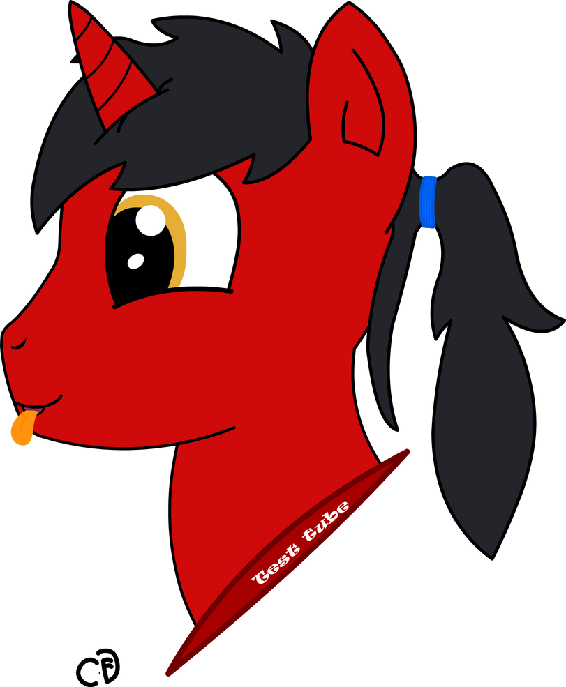 TestTube headshot by Cogs-Fixmore
