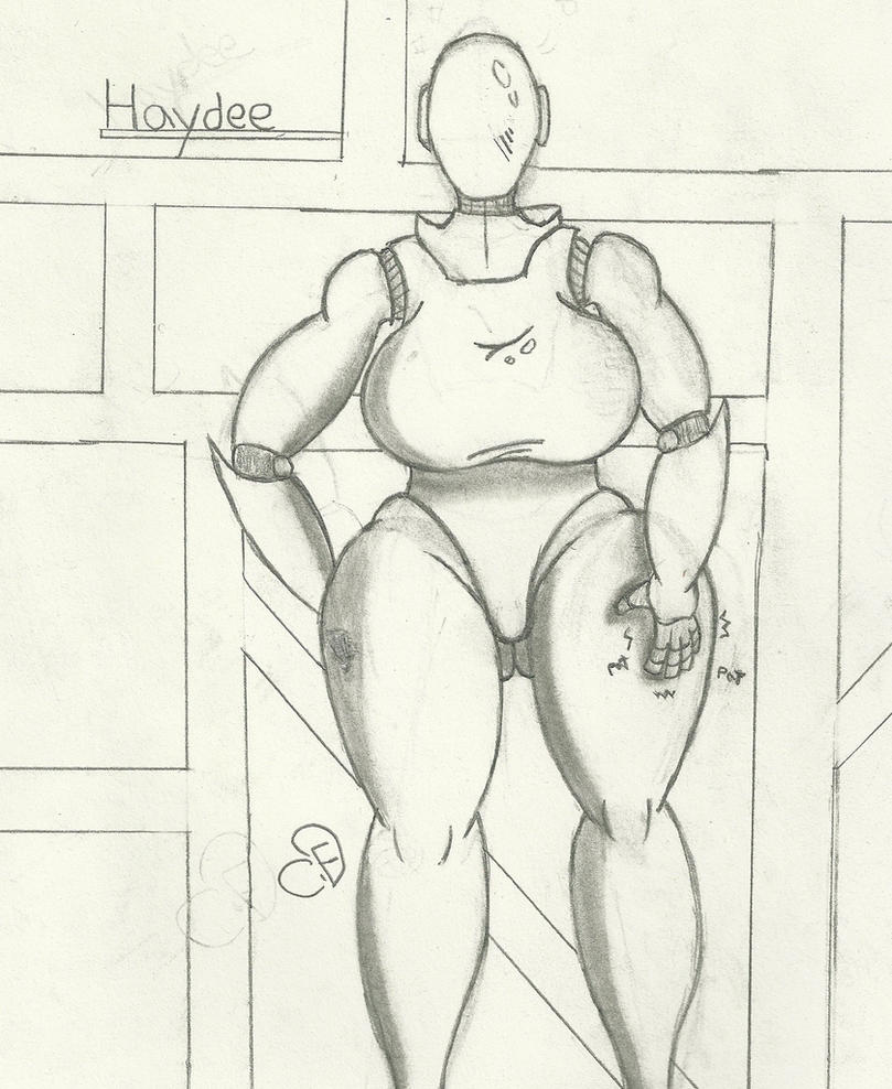 Haydee cutie with a round booty! by Cogs-Fixmore