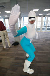 Me as Frozone by fluffypants