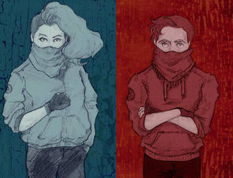 Mrs and Mr Revolution by Segomichoco