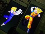 Vegeta vs Goku by SSJGOKU10