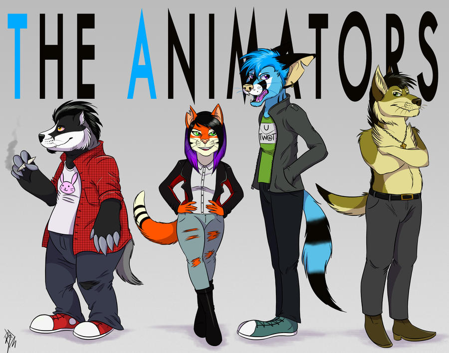 The Animators 2014 by THE-Z0MBIE-CAT