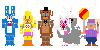 FNAF2 mini pixels by THE-Z0MBIE-CAT