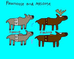 Pawnoose and Meloose by CuriousUserX90