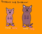 Quokkute and Quokkular by CuriousUserX90