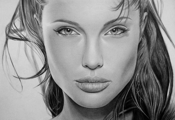 Angelina Jolie By Thanhphucluong On DeviantArt