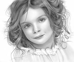 Little Girl II by thanhphucluong