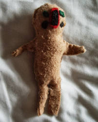 SCP-173 Plush by ToxicF4ux