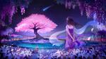 A Fairytale Night by lizhel-art