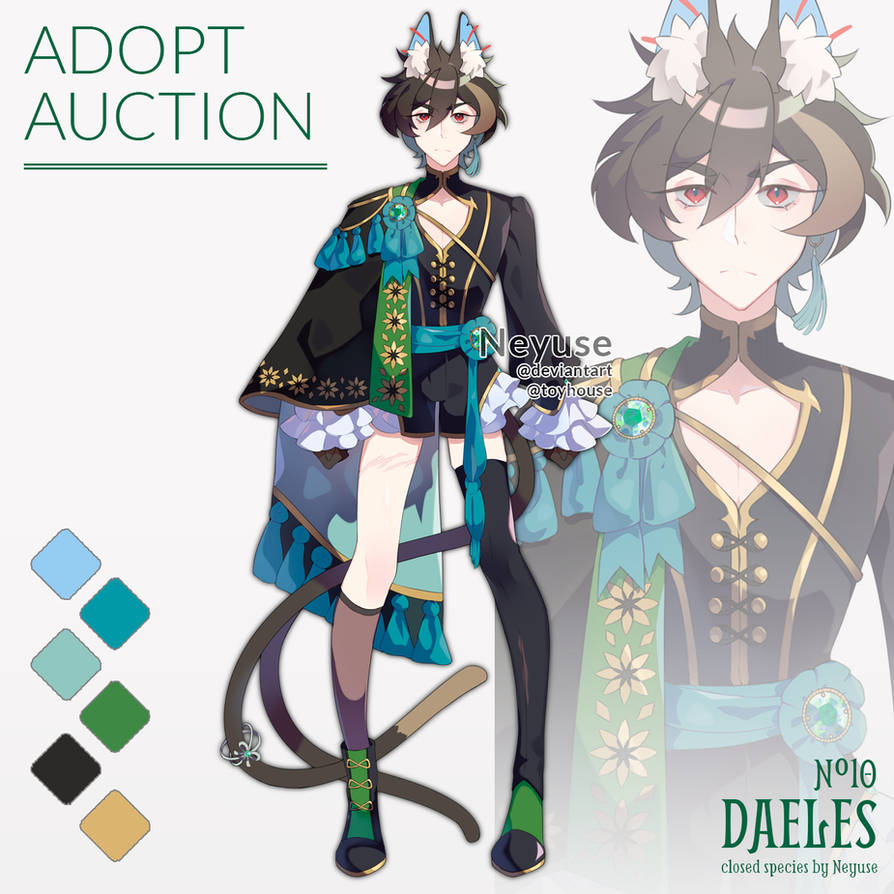 Auction - Daeles 10 (CLOSED)