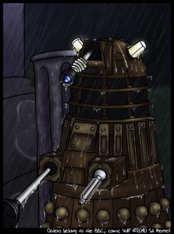 TEH SADDEST DALEK by julianwilbury