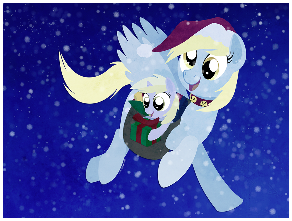 Very Merry Mailmare by julianwilbury
