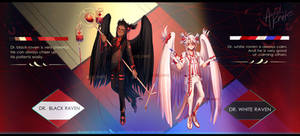 Ravens-healers|Auction Adoptable (OPEN) by Acid-Knife