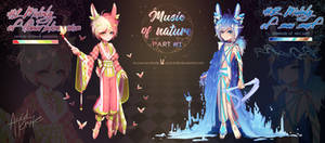 Music of nature|Auction Adoptable (OPEN) by Acid-Knife