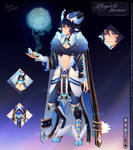 Intergalactic Wanderer  Auction Adopt (CLOSED)
