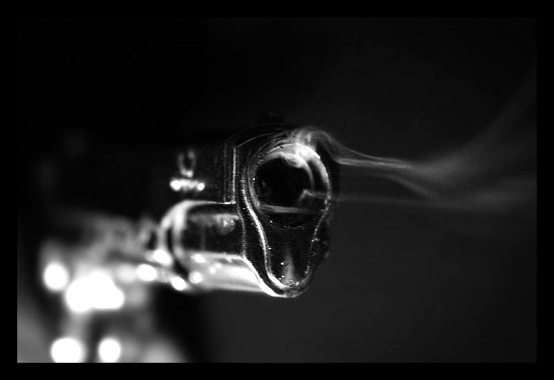 a smoking gun by eightball on DeviantArt
