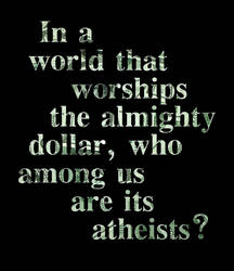 Almighty Dollar?