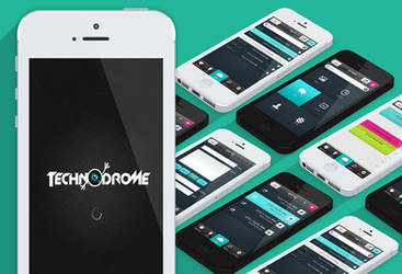 Technodrome App design by yuval10203