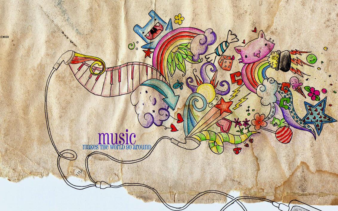 Music Wallpaper by artistiquegirl