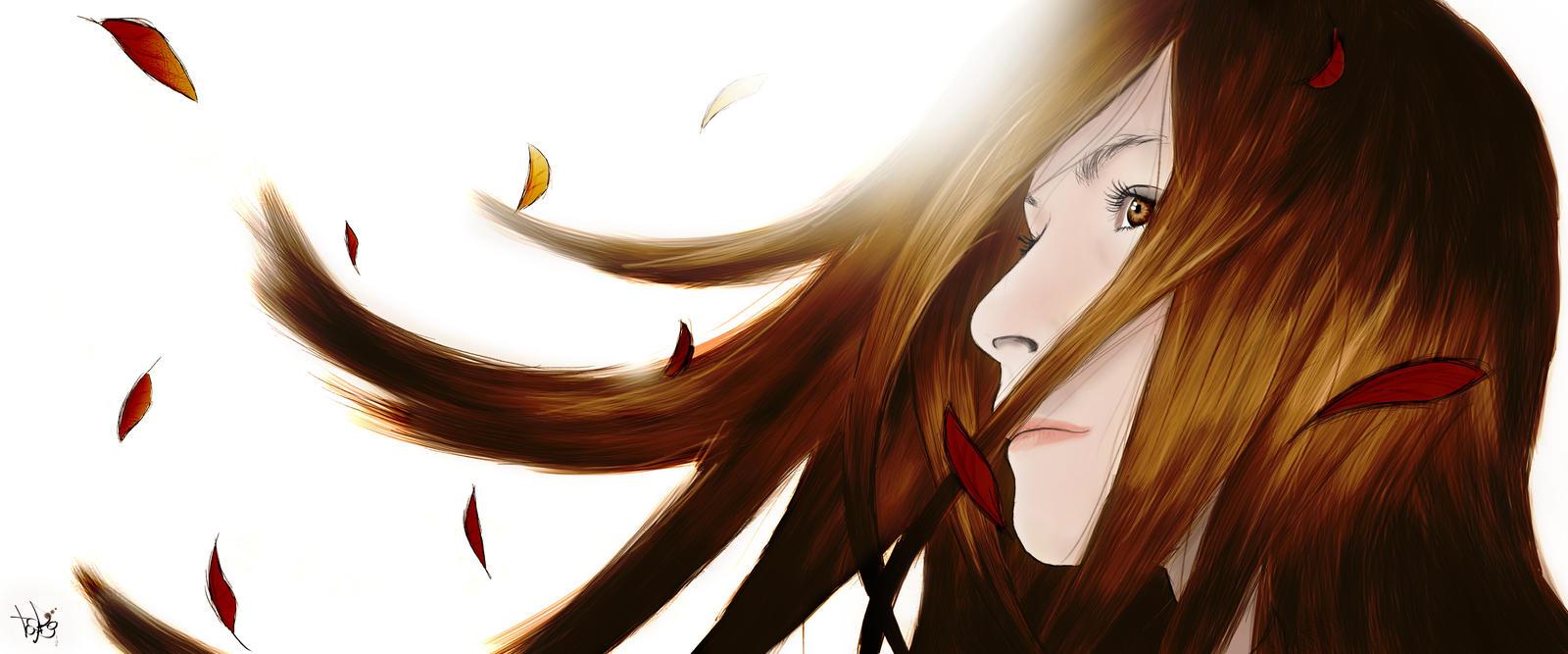 Autumn Girl by Toyboj