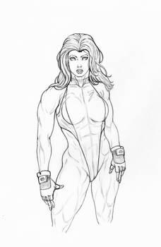 my she hulk clean lines