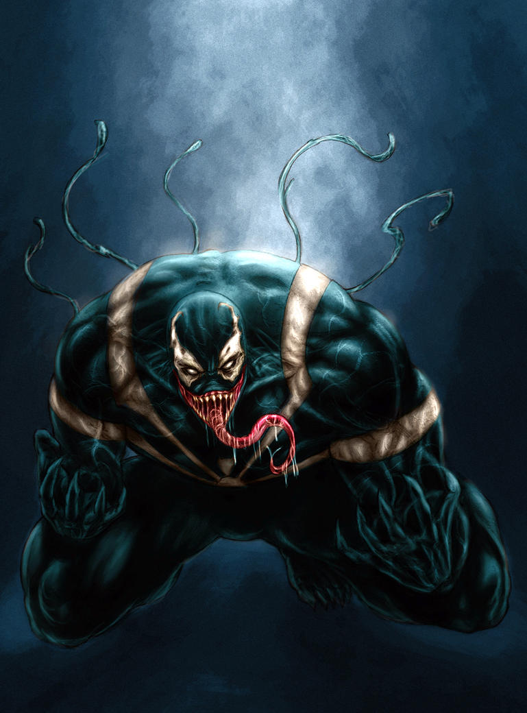 venom colored by vic55b