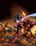 civil war color battle
