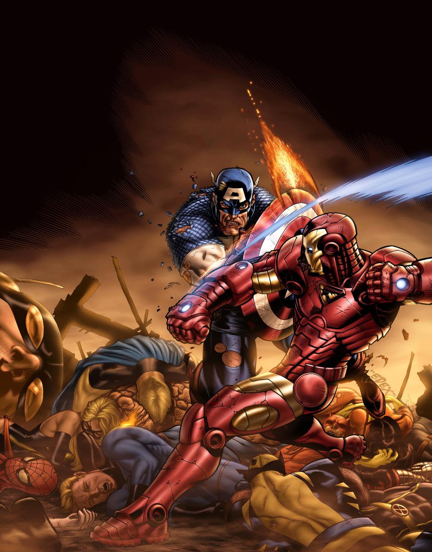 Civil War Color Battle By Vic55b On Deviantart