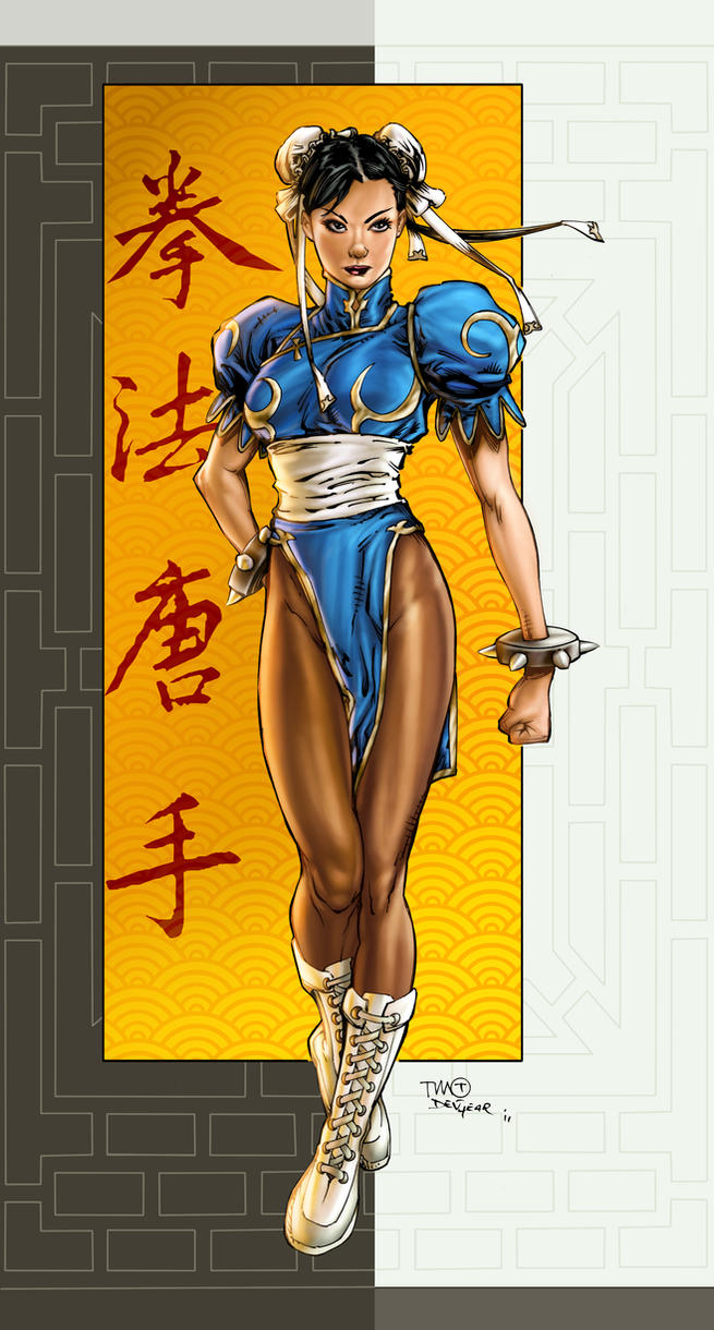 Timothy GreenII/ Devgear Chun LI Colors by vic55b