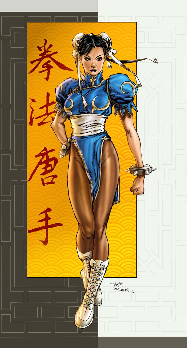 Timothy GreenII/ Devgear Chun LI Colors by vic55b
