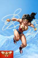 Wonder Woman colors by vic55b