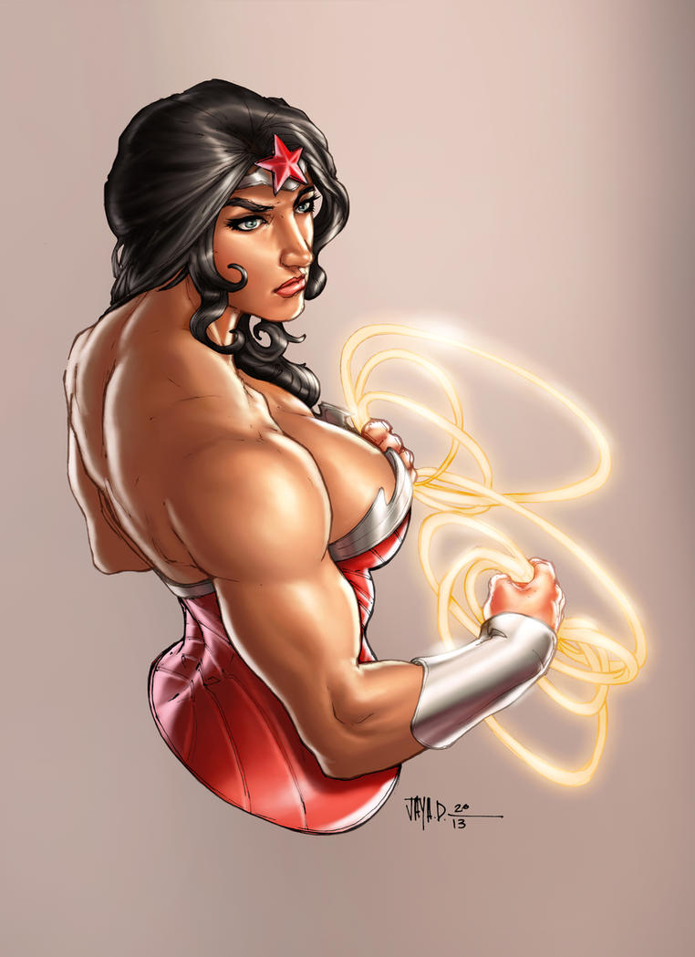 Wonderwoman_ Harpokrates_vic55b_colors by vic55b