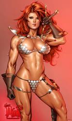 Shade Red Sonja vic55b_colors by vic55b