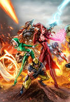 Uncanny Avengers Colors by vic55b