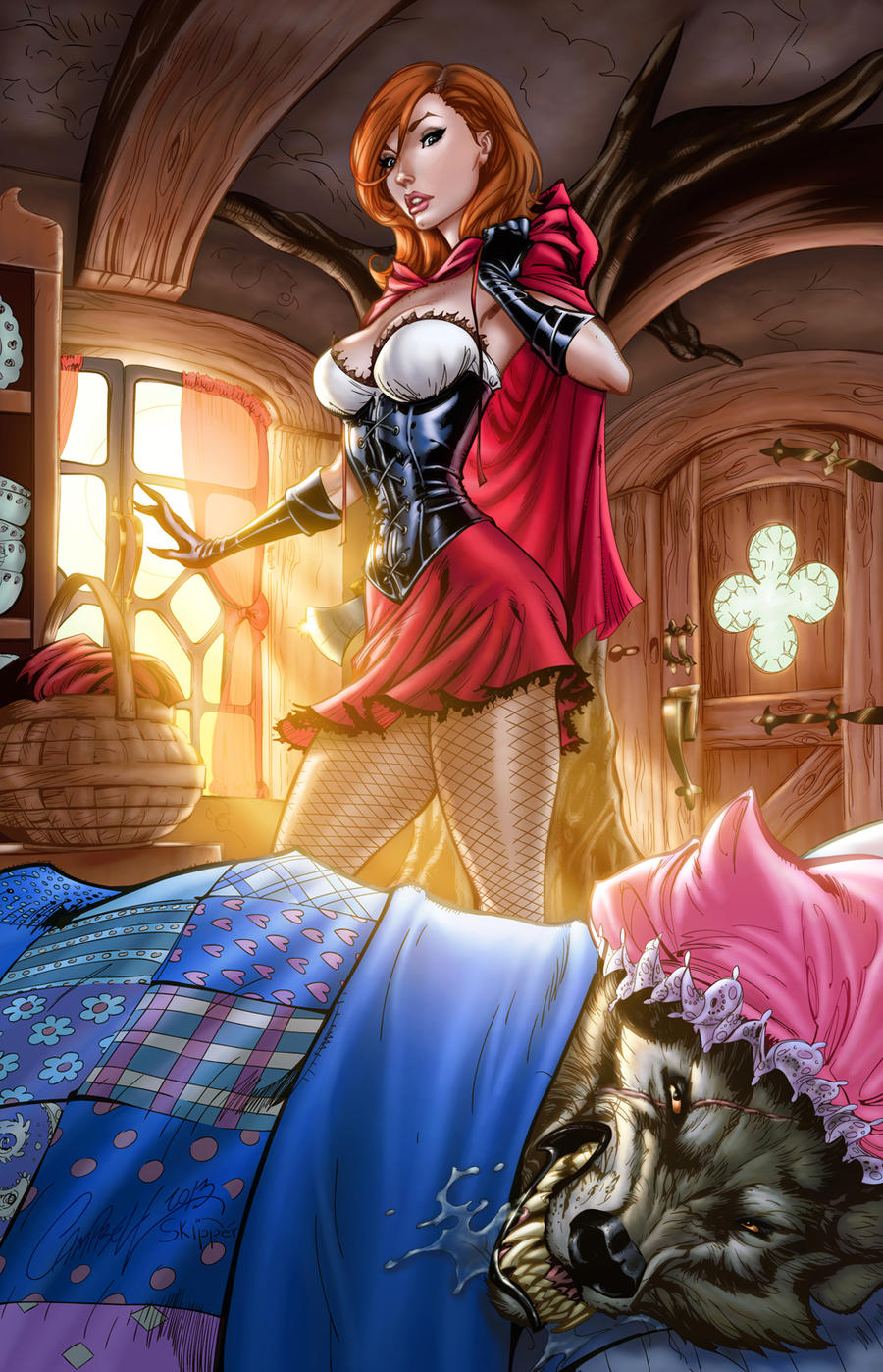 Little red riding hood porn gifs erotic gallery