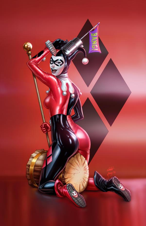 Harley Quinn Red Mccoy Vic55b by vic55b