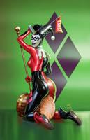 Harley Quinn Green Mccoy Vic55b by vic55b