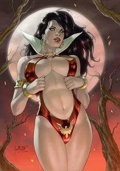 Vampirella By Leomatos2014-dc9d3q1
