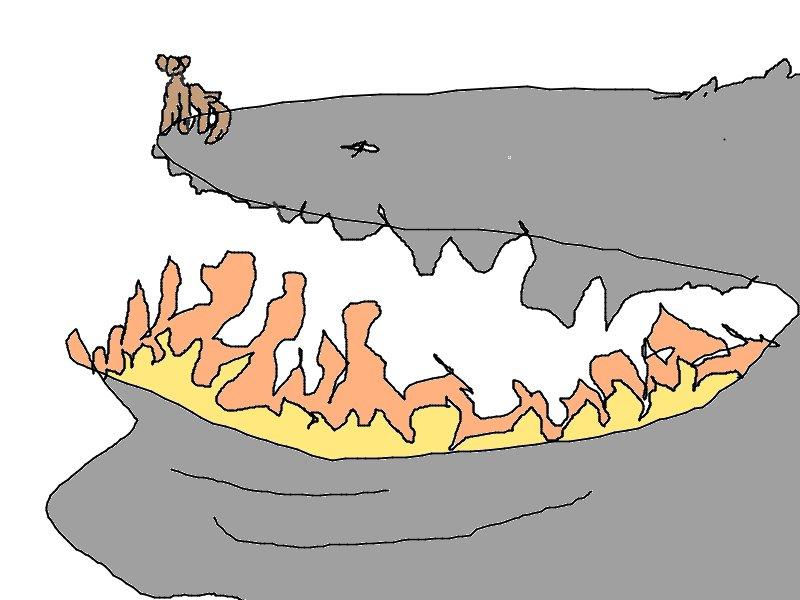 Mountian Whale by CinnamonToastKat