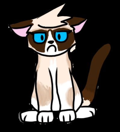 23. Grumpy Cat Pagedoll by SilverPelt50