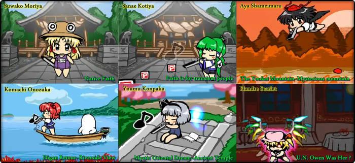 Touhou EWI Stars Part 1