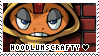 HoodlumScrafty Stamp by TRASHYADOPTS